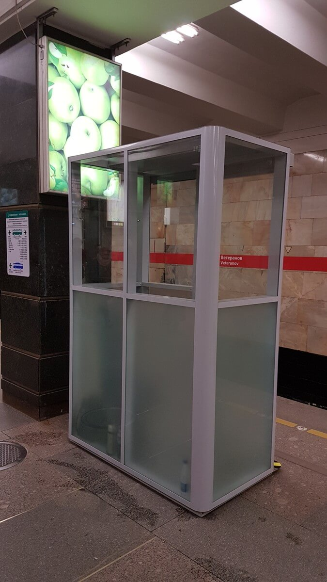 кабины для станции метро Проспект Ветеранов фото 3