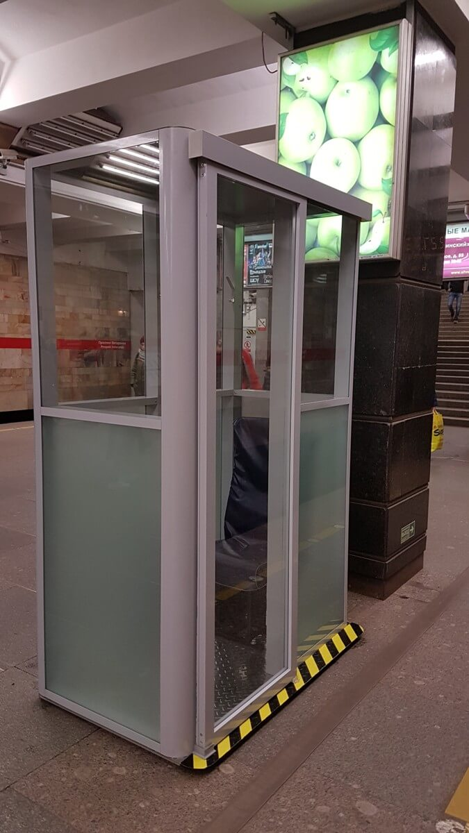 кабины для станции метро Проспект Ветеранов фото 4