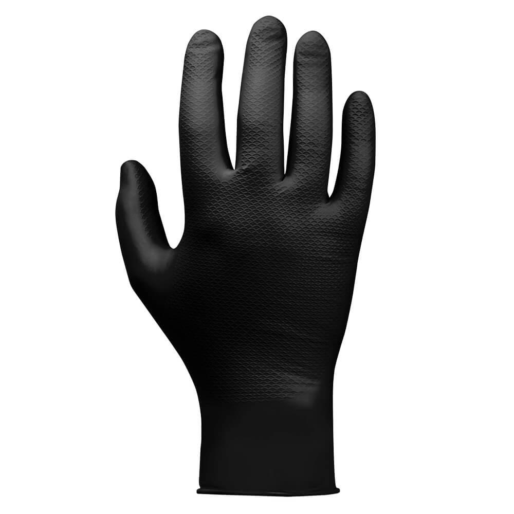 JSN Natrix нитриловые перчатки цвет черный