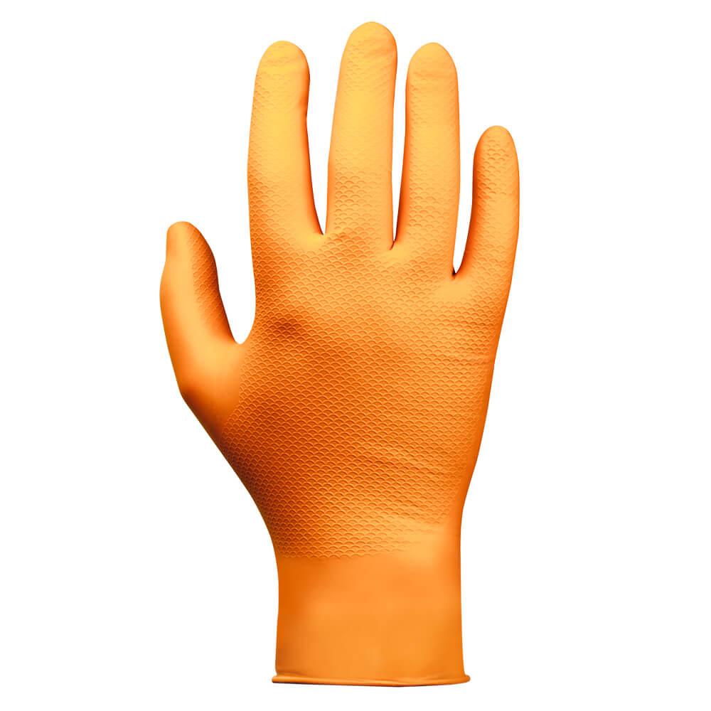 JSN Natrix нитриловая перчатка оранжевого цвета