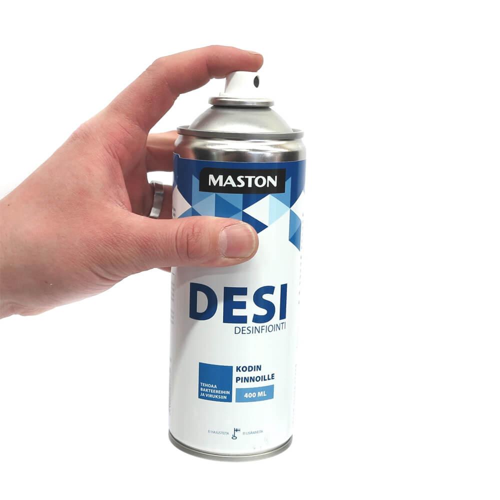 SPRAY DESI: дезинфицирующее средство в работе