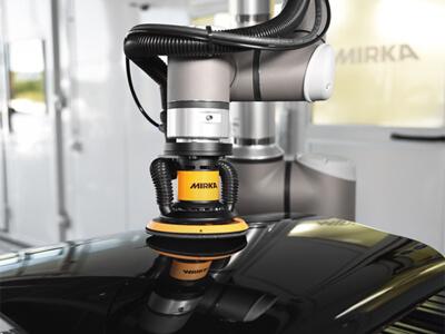 MIRKA AIROS - идеальное решение для роботизированного шлифования