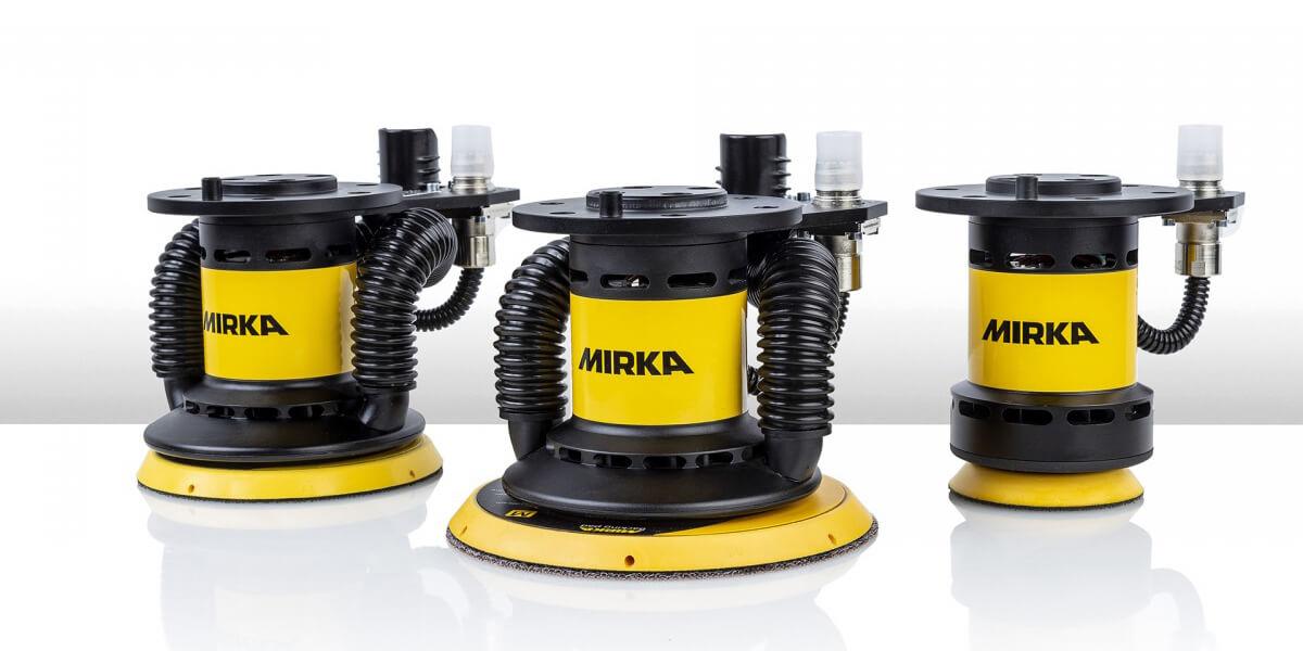 MIRKA AIROS автоматизированные машинки для шлифования