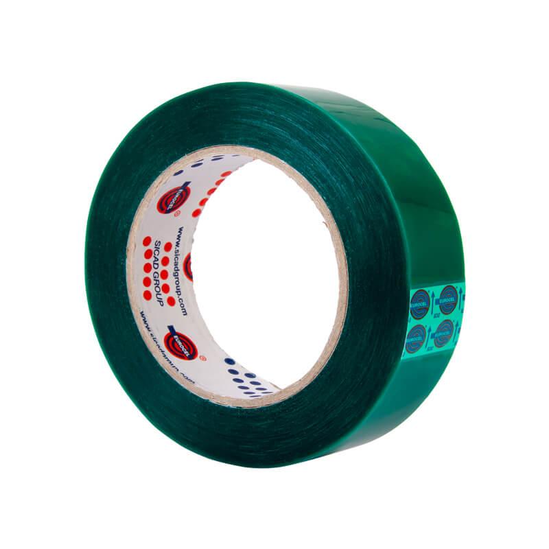 Термостойкая маскировочная лента Eurocel MSK 180 зеленый цвет фото 2
