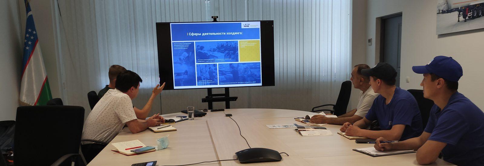 переговоры АВТОграф ПТ с вагоностроительной отраслью Узбекистана